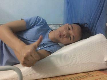 Anh Nguyễn Văn Sơn chia sẻ về gối nêm Hi-Sleep
