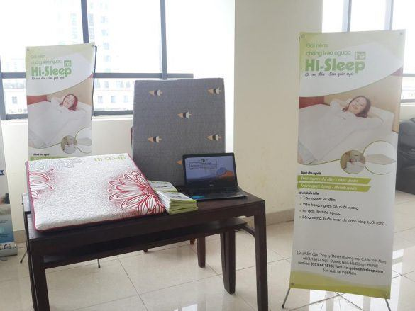 [HỎI ĐÁP]Có nên dùng gối chống trào ngược dạ dày cho người lớn Hi-Sleep?
