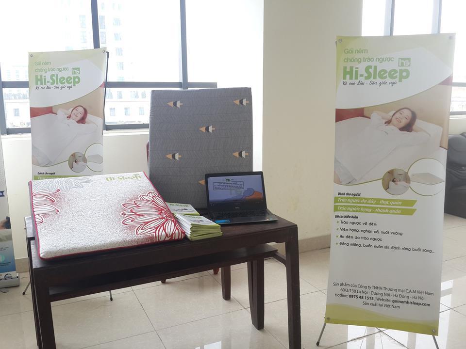 Sản phẩm gối nêm Hi-Sleep