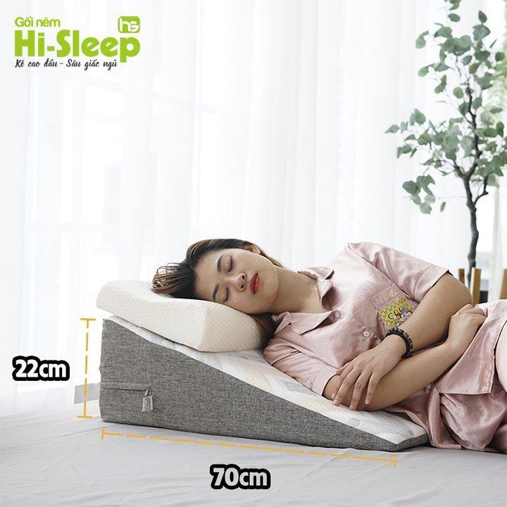 Gối nêm chống trào ngược dạ dày Hi-Sleep