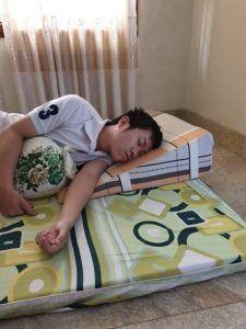 Gối hỗ trợ chống trào ngược dạ dày Hi-Sleep loại 14cm photo review