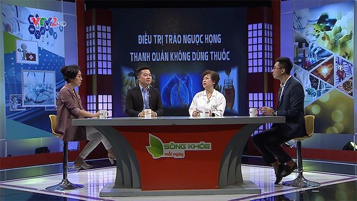 """Chương trình """"Sống khỏe mỗi ngày: Điều trị bệnh trào ngược họng thanh quản không dùng thuốc"""" phát sóng 12/6/2020"""