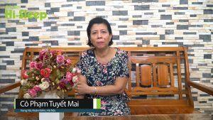 Cô Phạm Tuyết Mai – 59 tuổi - Vọng Hà, Hoàn Kiếm, Hà Nội thường xuyên bị ho, đau họng, nuốt vướng