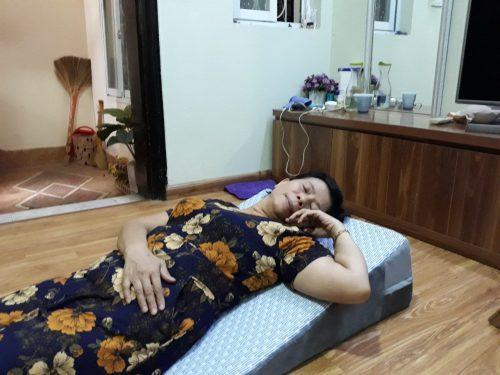 Đệm chống trào ngược dạ dày người lớn Hi-Sleep 18cm photo review