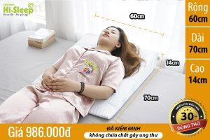 gối chống trào ngược Hi-Sleep loại cao 14 cm