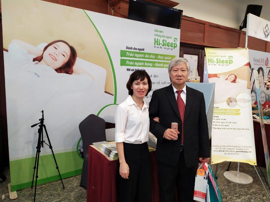 PGS.TS Đặng Xuân Hùng khẳng định ngủ nâng cao đầu giường đóng góp vào 50% trong điều trị bệnh trào ngược họng - thanh quản