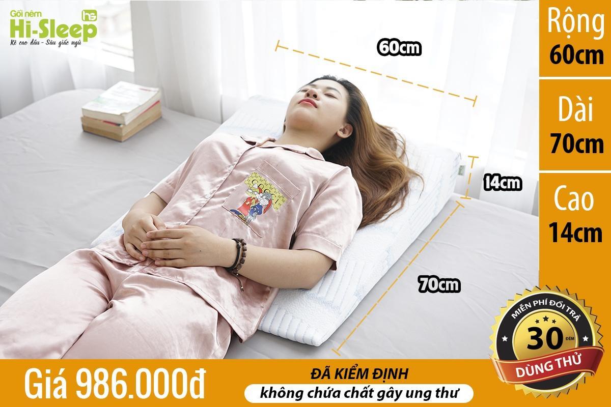 Gối nêm Hi-Sleep loại cao 14 cm