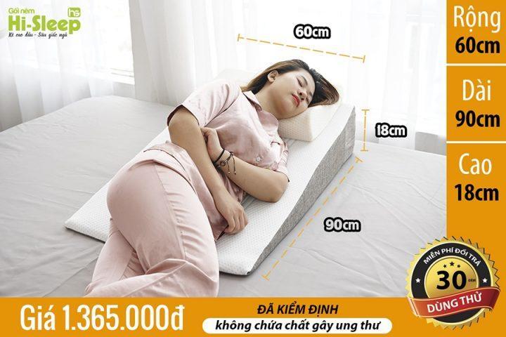 Đệm chống trào ngược Hi-Sleep loại 18 cm