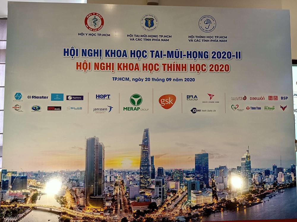 Hội nghị khoa học Tai - Mũi - Họng 2020