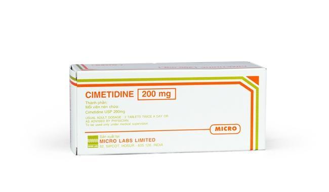 thuoc giam tiet acid da day cimetidine kr