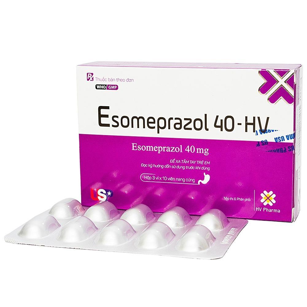 thuoc giam tiet acid da day esomeprazol kr