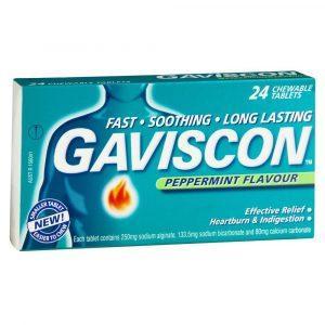 Thuốc tạo lớp bè kháng acid dạ dày Gaviscon